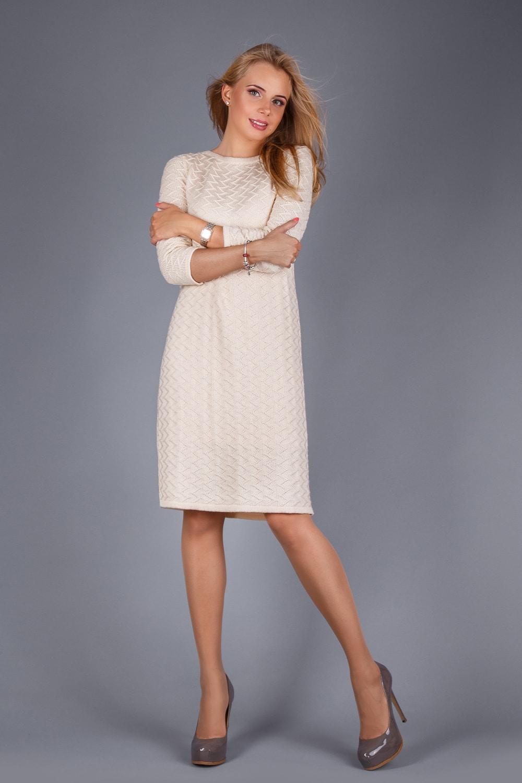 платье вязаное 1092 в интернет магазине Trikobakh женская одежда от
